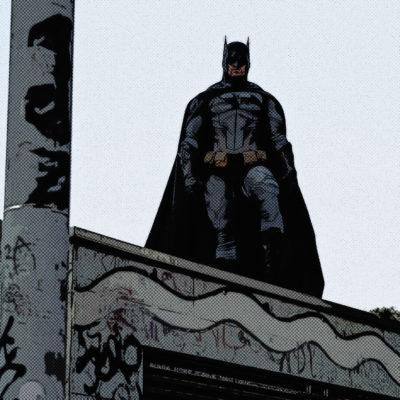 Portrait comics – Batman