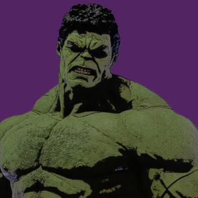 Portrait comics – Hulk