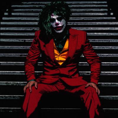 Portrait comics – Le Joker