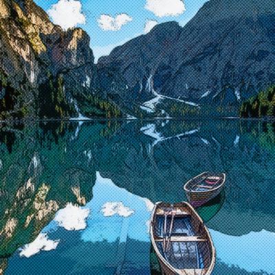 Tableau comics – Lac