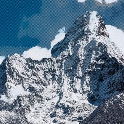 Tableau comics – Montagne