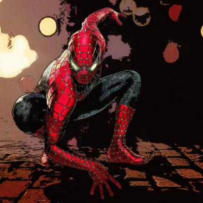 Portrait comics – Spiderman